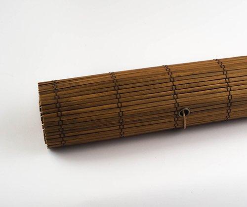 Productfoto van het bamboe rolgordijn bruin