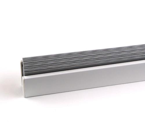 Productfoto van het plissè gordijn grijs