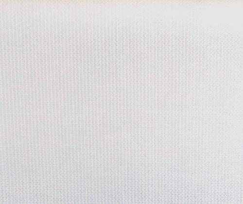 Detailfoto van het buitenrolgordijn wit