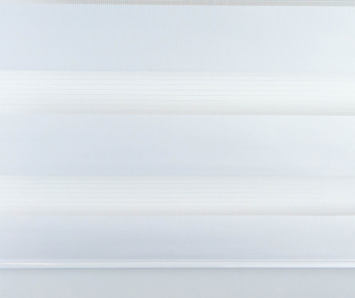 Voorkant van het duo rolgordijn wit