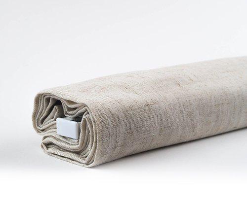 Productfoto van het vouwgordijn linnen