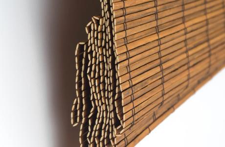 Bamboe vouwgordijnen Lelystad