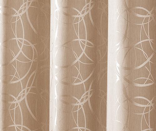 detailfoto ondoorzichtig gordijn lennard natuurkleurig