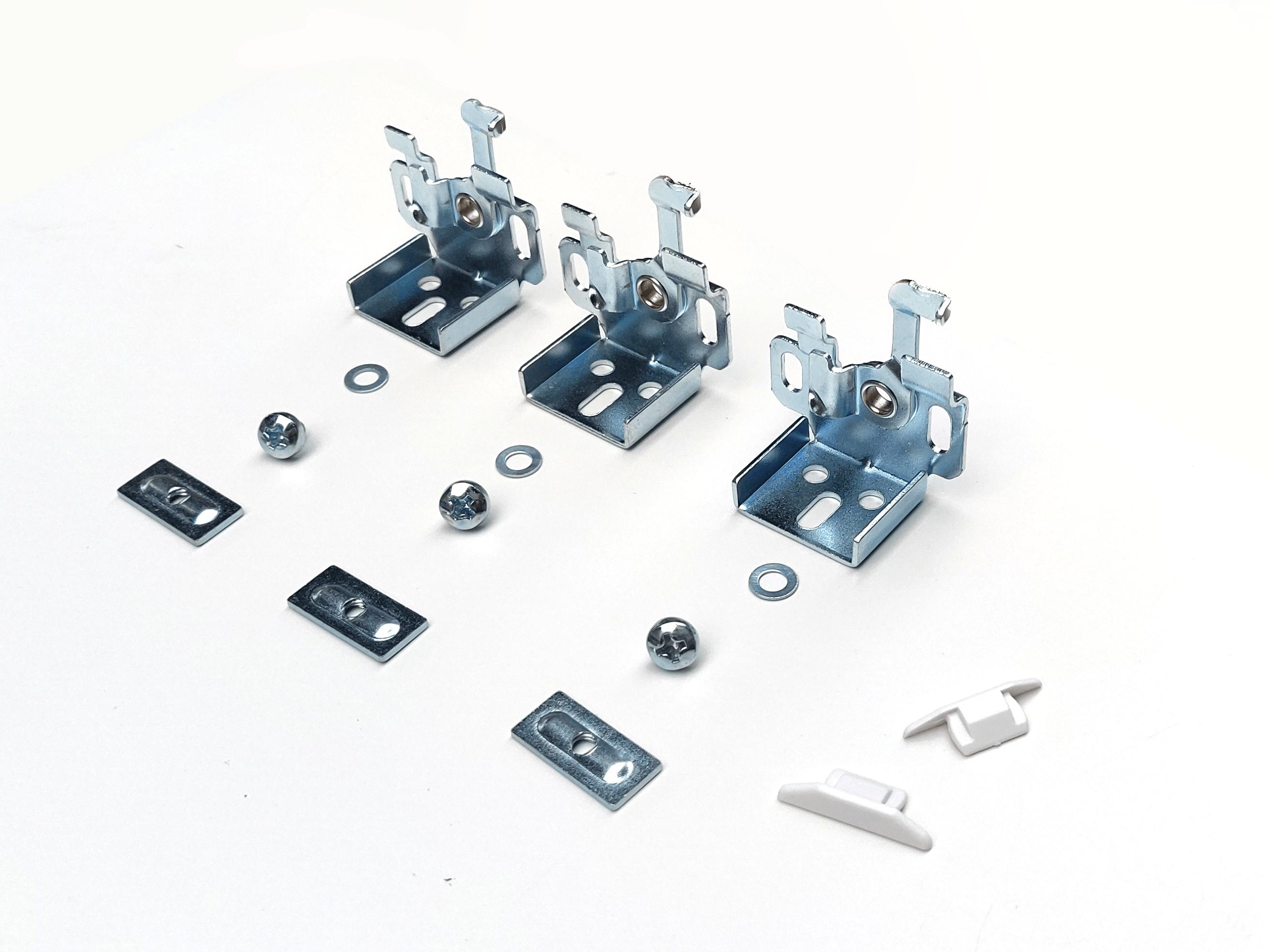 Luxaflex ophangen zonder boren