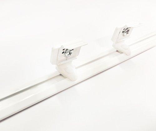QuickFit montageprofiel voor plissé gordijnen (koordbediening)