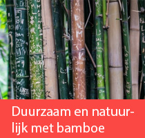 Duurzame en natuurlijke bamboe gordijnen