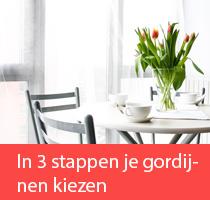 In 3 stappen de perfecte gordijnen kiezen voor je interieur