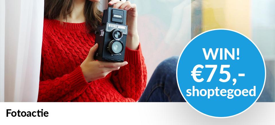 Trisq fotoactie win 75 euro shoptegoed
