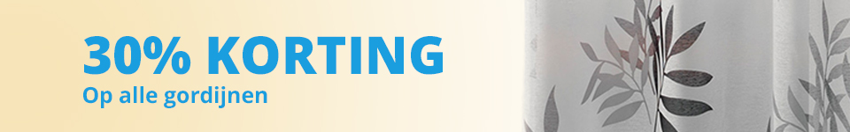 algemene gordijnen banner 30% korting