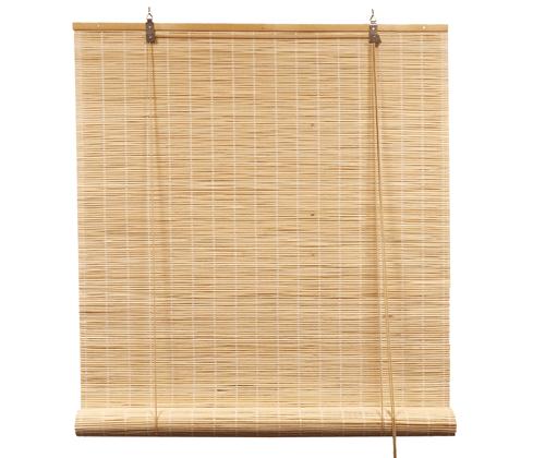 Natuur rolgordijn bamboe